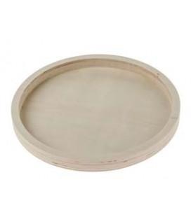 Podnos drevený kruhový pr. 22 cm