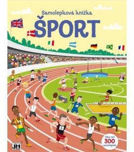 Šport - samolepková knižka