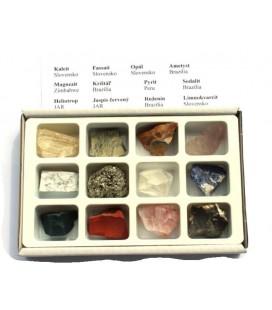 Minerály v krabičke