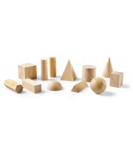 Geometrické telesá, drevené