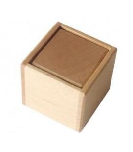 Montessori drevená kocka v krabičke