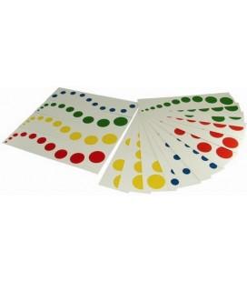 Karty k farebným valčekom