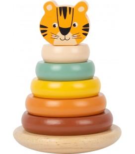Navliekacia veža s krúžkami Tiger