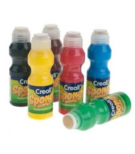 Špongiové farby v tube (Dot Marker)