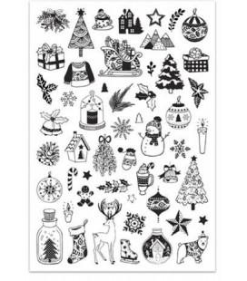 Pečiatky Christmas - Veselé Vianoce