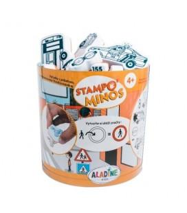 Pečiatky s príbehom StampoMinos - Dopravné prostriedky