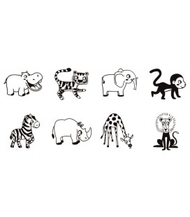 Pečiatky StampoBambino - Safari