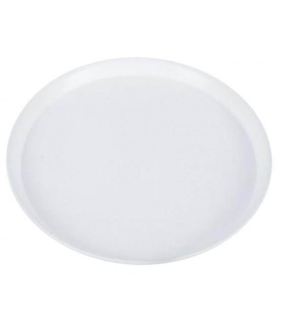 Podnos kruhový biely