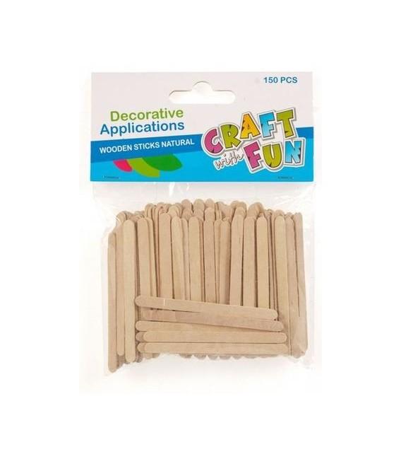 Paličky drevené prírodné