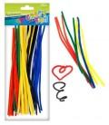 Farebné chlpaté drôtiky 30ks
