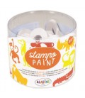 Maľovacie pečiatky StampoPaint - Safari