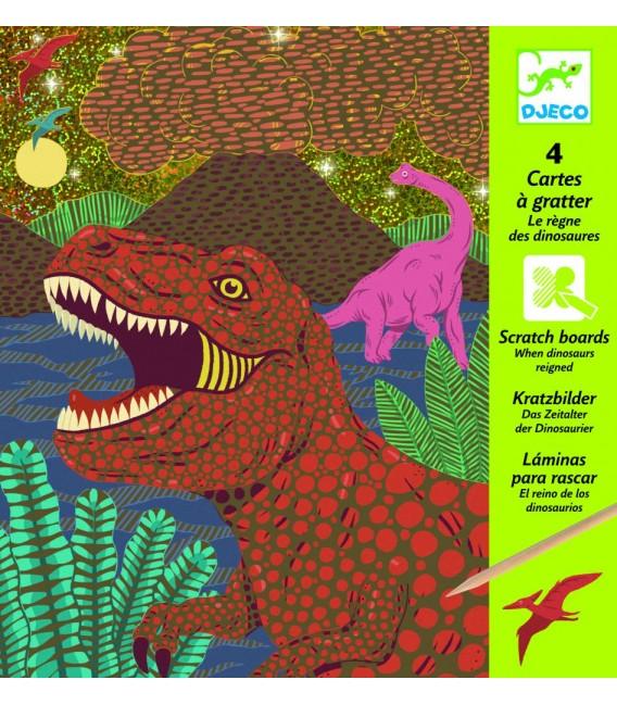 Vyškrabovačky Doba dinosaurov