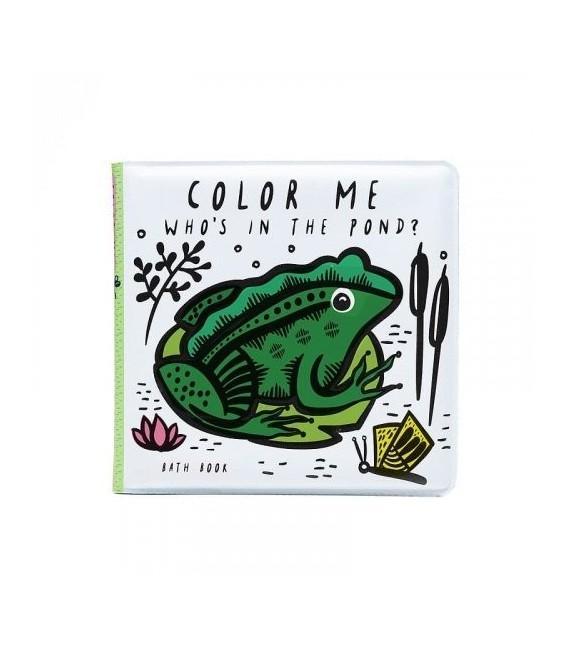 Kniha do vody - Kto je v rybníku?