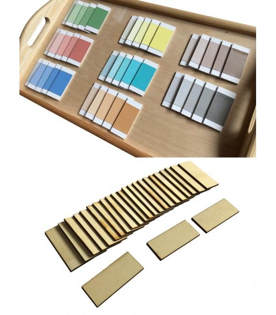 Farebné doštičky - urob si sám
