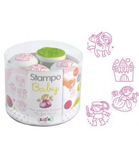 Pečiatky StampoBaby - Princezné