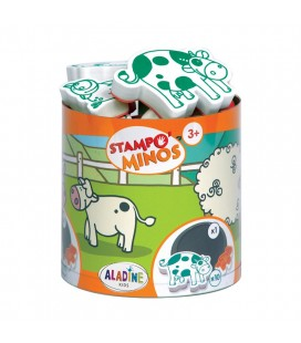 Pečiatky s príbehom StampoMinos - Domáce zvieratká (farma)