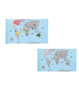Stieracia mapa sveta