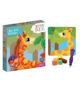 Žirafa, vytvor si 3D obrázok