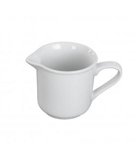 Džbán porcelánový biely 1dcl