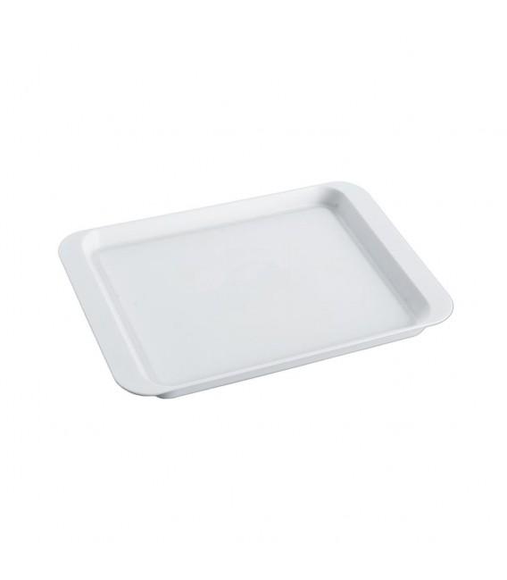 Podnos plastový biely 21,5x15 cm