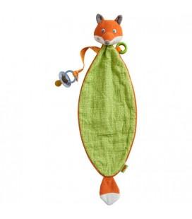Mojkáčik Líška s držiakom na cumlík