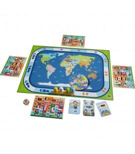 Spoločenská vzdelávacia hra Krajiny sveta