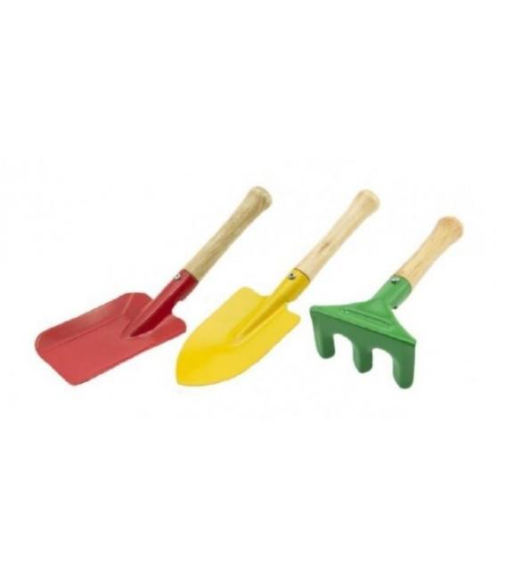 Záhradné náradie pre deti - set 3ks