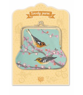 Detská peňaženka Lovely Purse - Vtáčiky