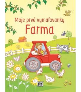 Moje prvé vymaľovanky - Farma
