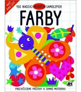 FARBY - 150 naozaj veľkých samolepiek