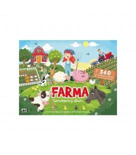 Veľký samolepkový album - Farma