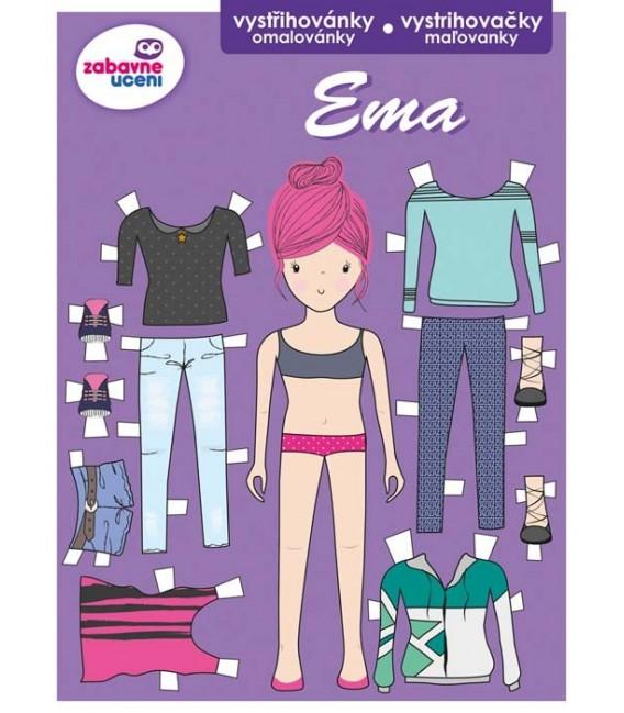 Ema - vystrihovačky a omaľovánky