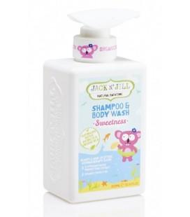 Šampón na telo a vlásky Sweetness Jack N' Jill