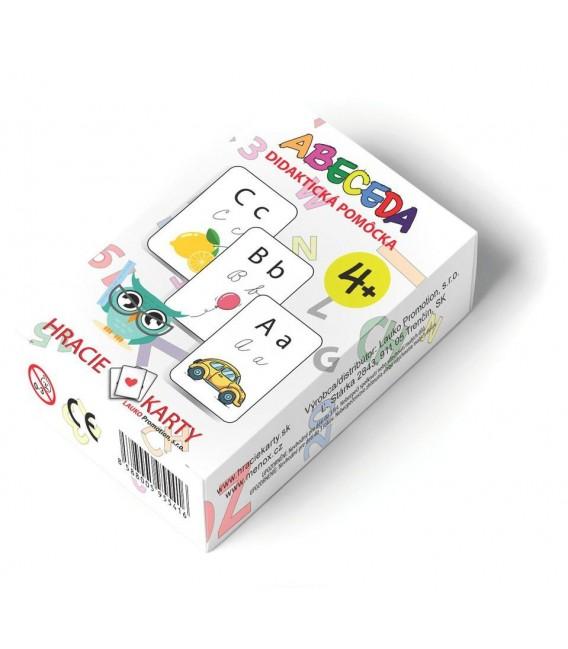 Karty Abeceda a Matematika, didaktická pomôcka 2v1