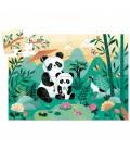 Puzzle Panda, v tvarovanej krabičke
