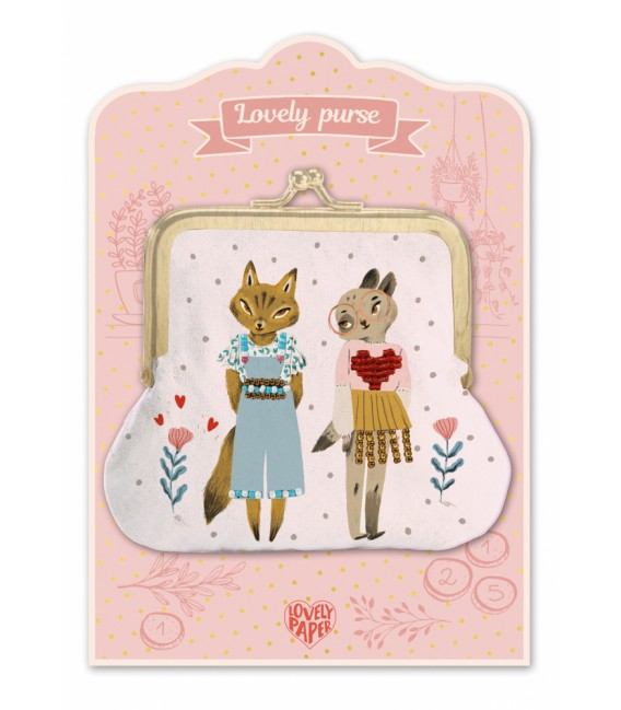 Detská peňaženka Lovely Purse - Mačky