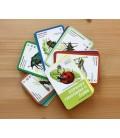 Hmyz v prírodnej záhrade, kartičky vo vejári