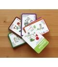 Užitočná burina, kartičky vo vejári