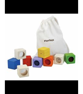 Zmyslové kocky (9 ks)
