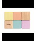 Zmyslové kocky pastelové PlanLifestyle (6 ks)