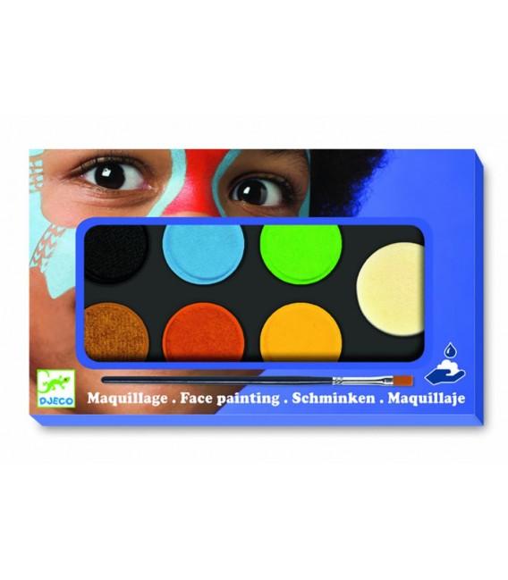 Farby na tvár – prírodné odtiene