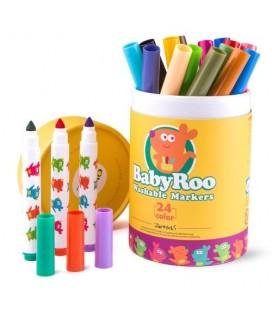 Fixky Baby Roo umývateľné, 24ks