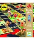 Pop to play puzzle: Mesto (skladacia dráha na hranie)