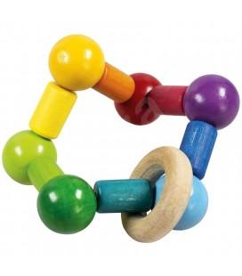 Hmatátko farebné guličky na gumičke