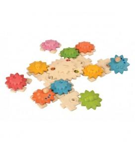 Puzzle ozubené kolieska